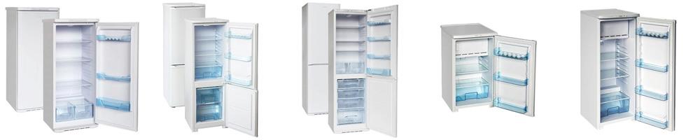 Рейтинг лучших холодильников Бирюса
