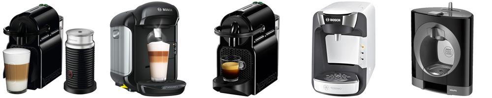 Рейтинг лучших капсульных кофемашин