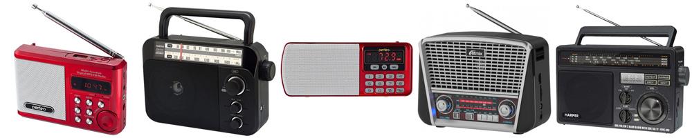 Рейтинг лучших переносных радиоприемников