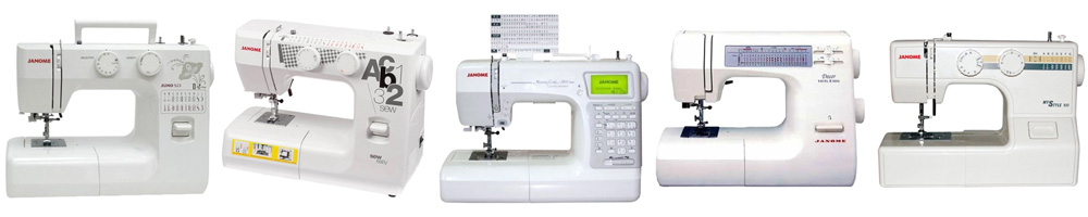 Рейтинг лучших швейных машинок Janome