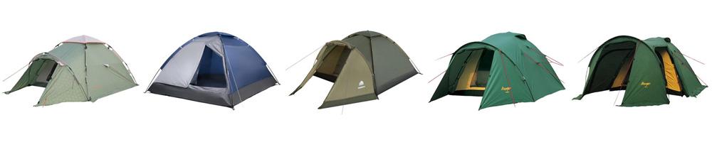 Рейтинг лучших 2-местных палаток