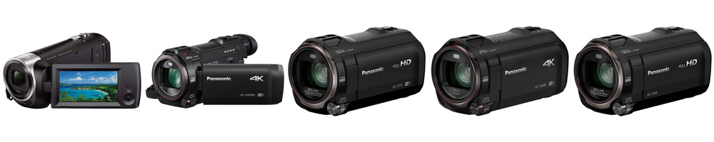 Рейтинг лучших видеокамер