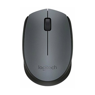 Logitech M170 Wireless Mouse Black-Grey USB