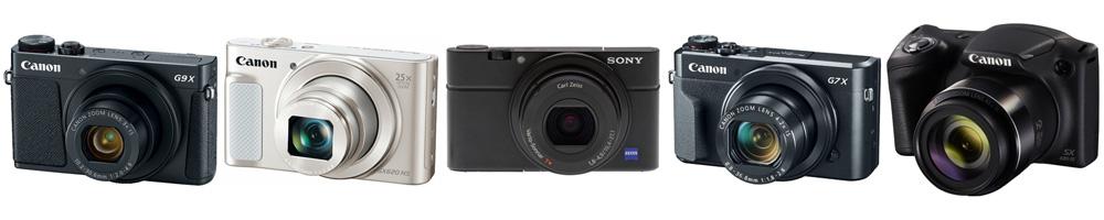 Рейтинг лучших компактных фотоаппаратов