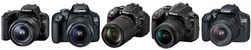 Рейтинг лучших недорогих зеркальных фотоаппаратов