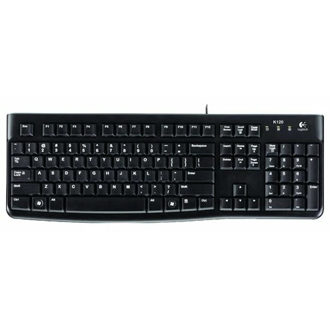 Logitech Keyboard K120 for Business Black USB