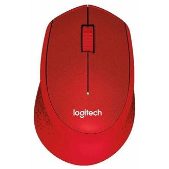 Logitech M330 SILENT PLUS Red USB