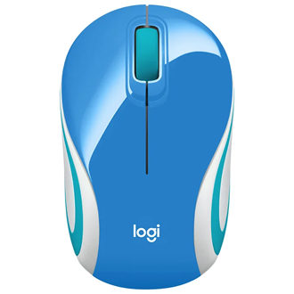 Logitech Wireless Ultra Portable M187 Blue USB