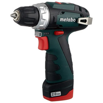 Metabo PowerMaxx BS 2014 Basic 2.0Ah x2 Case 34 Н·м